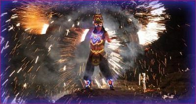 «FIRE SHOW»fire and pyrotechnics show...